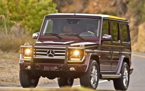 2014 Mercedes-Benz G-Class (G550)