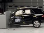 2014 Mercedes-Benz ML350 Crash Test