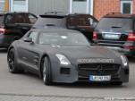 2014 Mercedes-Benz SLS AMG Black Series spy shots