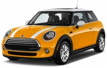 2014 MINI Cooper 2-door Coupe Angular Front Exterior View