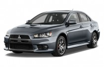 2014 Mitsubishi Lancer Evolution / Ralliart 4-door Sedan TC-SST MR Angular Front Exterior View