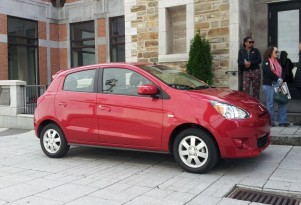 2014 Mitsubishi Mirage: 40-MPG Minicar Gas Mileage Test