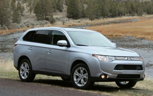 2014 Mitsubishi Outlander vs Dodge Journey, Honda CR-V, Nissan Rogue, Subaru Forester, Toyota
