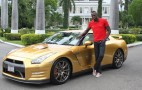 Gold Medals Lead To Golden Nissan GT-R For Usain Bolt