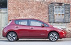 2014 Nissan Leaf Electric Car: 84-Mile Range, RearView Monitor Standard