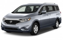 2014 Nissan Quest 4-door SV Angular Front Exterior View