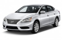 2014 Nissan Sentra 4-door Sedan I4 CVT SV Angular Front Exterior View