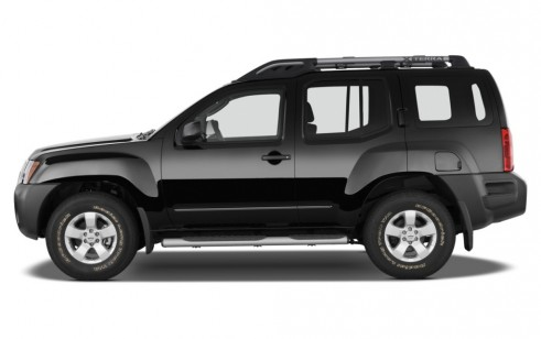 Nissan Xterra Wd  Door Auto X Side Exterior View