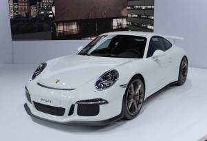 2014 Porsche 911 GT3: Live Images From New York