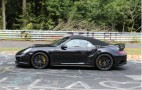 2014 Porsche 911 Turbo S Cabriolet Spy Shots
