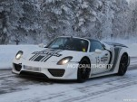 2014 Porsche 918 Spyder spy shots