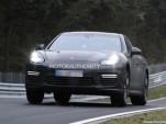 2014 Porsche Panamera facelift spy shots