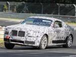 2014 Rolls-Royce Ghost Coupe (Corniche) spy shots