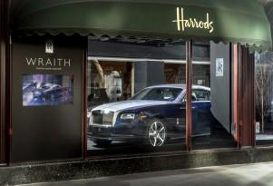 2014 Rolls-Royce Wraith at Harrods, London