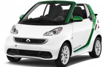 2014 Smart fortwo electric drive 2-door Cabriolet Passion Angular Front Exterior View