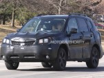 2014 Subaru Forester spy shots