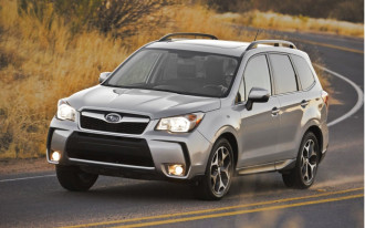 "2014 Subaru Forester Recalled For Floor Mat ""Curling"""
