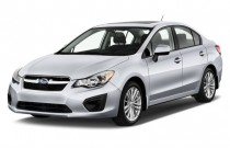 2014 Subaru Impreza 4-door Auto 2.0i Angular Front Exterior View