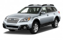 2014 Subaru Outback 4-door Wagon H6 Auto 3.6R Limited Angular Front Exterior View