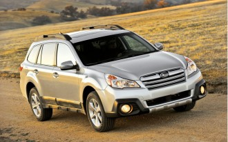 Subaru Outback, Legacy Top New Forward Collision Prevention Ratings