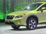 2014 Subaru XV Crosstrek Hybrid at 2013 New York Auto Show