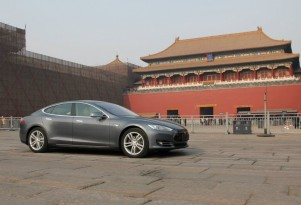 Tesla opens second huge China charging station for 50 electric cars