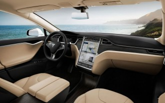 Tesla Model S Gets Over-The-Air Software Update, With Traffic Navigation, Remote Start, And More