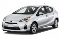 2014 Toyota Prius C 5dr HB Three (Natl) Angular Front Exterior View