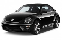 2014 Volkswagen Beetle Coupe 2-door Man 2.0T Turbo R-Line Angular Front Exterior View