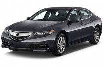 2015 Acura TLX 4-door Sedan FWD Tech Angular Front Exterior View