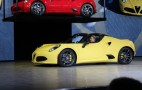 2015 Alfa Romeo 4C Spider Debuts In Detroit: Live Photos & Video
