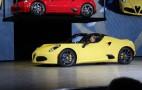 2015 Alfa Romeo 4C Spider Debuts In Detroit: Live Photos & Video