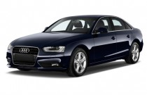 2015 Audi A4 4-door Sedan CVT FrontTrak 2.0T Premium Angular Front Exterior View