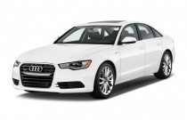 2015 Audi A6 4-door Sedan FrontTrak 2.0T Premium Plus Angular Front Exterior View
