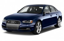 2015 Audi S4 4-door Sedan Man Premium Plus Angular Front Exterior View