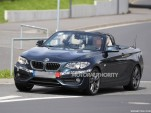 2015 BMW 2-Series Convertible spy shots