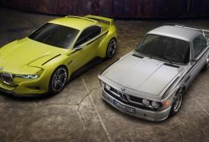 BMW 3.0 CSL Hommage concept, 2015 Concorso d'Eleganza Villa d'Este