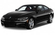 2015 BMW 4-Series 2-door Coupe 435i RWD Angular Front Exterior View