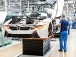 2015 BMW i8 construction at Leipzig plant