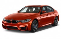2015 BMW M3 4-door Sedan Angular Front Exterior View