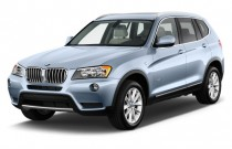 2015 BMW X3 AWD 4-door xDrive28i Angular Front Exterior View