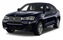2015 BMW X4 AWD 4-door xDrive28i Angular Front Exterior View