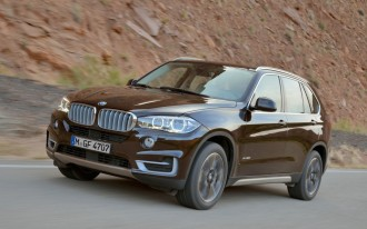 2015 BMW X5 Earns Five-Star Sweep In Federal Crash Tests
