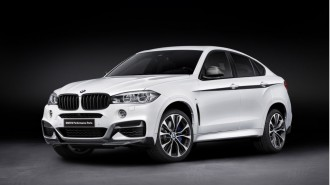 2015 BMW X6 with BMW M Performance upgrades