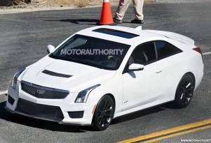 2016 Cadillac ATS-V Coupe spy shots