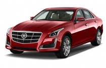 2015 Cadillac CTS 4-door Sedan 2.0L Turbo RWD Angular Front Exterior View