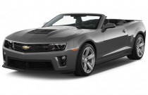 2015 Chevrolet Camaro 2-door Convertible ZL1 Angular Front Exterior View