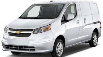 "2015 Chevrolet City Express Cargo Van FWD 115"" LT Angular Front Exterior View"