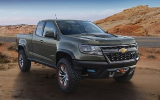Chevrolet Colorado Gets ZR2 Concept With Turbodiesel Power: 2014 Los Angeles Auto Show