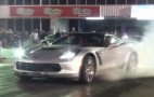 2015 Chevy Corvette Z06 Does Burnout, Then Runs The Quarter Mile: Video